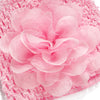 Infant Spring Colorful Lace-up Baby Boy Girl Caps Soft Cotton Floral Hat Sweet Beanie Hollow Lace Kids Hats