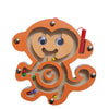 Kids Wooden Puzzle Children Animal Magnetic Maze Toys Baby Mental Intellectual Development Board Boy Girl