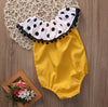 born Baby Romper Summer Princess Girls Polka Dot Sun suit Outfits Toddler Kids Jumpsuit Cotton Clothes