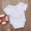 Summer born Infant Baby Boys Girls Letter Printed Romper Jumpsuit Sunsuit Outfits Clothes
