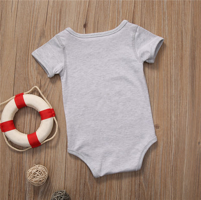 Summer Cotton Newborn Infant Baby Girls Romper Milk bottle Jumpsuit Clothes Outfits 0-18M