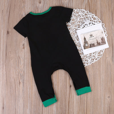 Newborn Baby Girl Boy Romper Cotton Short Sleeve Jumpsuit Kids Clothes Outfits
