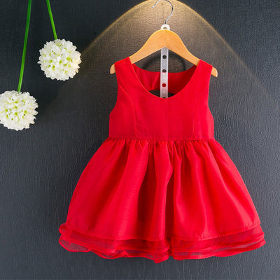 Girls Princess Dress Children Clothing Ball Gown Dot Print Kids Clothes Girls Dresses