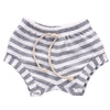 Cute Boys Girls Baby Striped Bottoms Trousers Summer Fake taking out rope Bloomers PP Shorts Children Pants 0-4Y