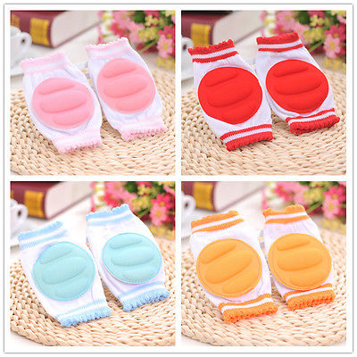 5 Color Kids Safety Crawling Elbow Cushion Infants Toddlers Baby Knee Pads