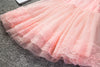 Babe Princess Girl Dress Beautiful Lace Chirstening Gown Children Party Girl Wear Brand Clothing Kids Dresses For Girl