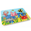 Cute Ocean Animal Crab Fish Baby Puzzle Preschool Infant Magnetic Fishing Wooden Toy Jigsaw Children Toy