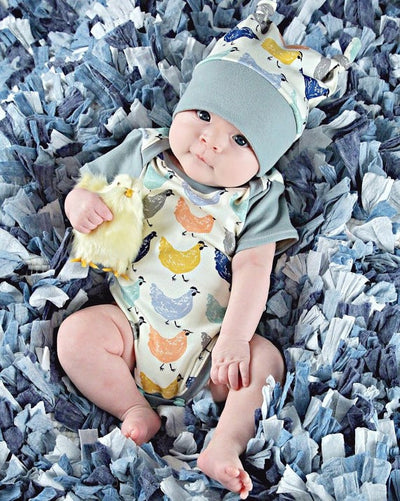 2Pcs! Newest Chicken Prints Fancy Kids baby Boys Girls Cotton Romper One Piece Clothes Infants Indoor Outdoor Jumpsuit