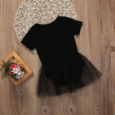 Summer Newborn Baby girls Lace Flower Romper Girl Kid Baby Short Sleeve Tutu Jumpsuit Sunsuit clothing