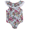 Summer born Infant Baby Girl Floral Lace Romper Jumpsuit Outfit Sunsuit Clothes