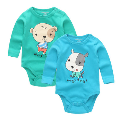 Baby Boys Romper Character 100% Cotton O- Neck Full Sleeve Baby Clothes