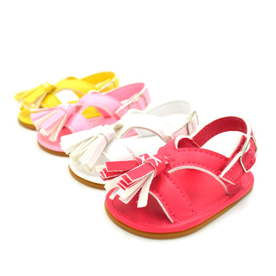 First Walkers Baby Girls Kids Boys Anti-Slip Crib Shoes Soft Sole Shoes