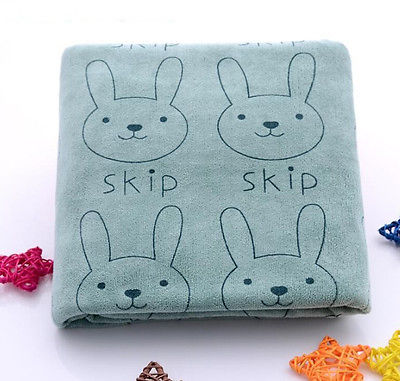 Newborn baby boys girls Rabbit Soft Microfiber Baby Infant Newborn Washcloth Bath Towel Feeding Cloth