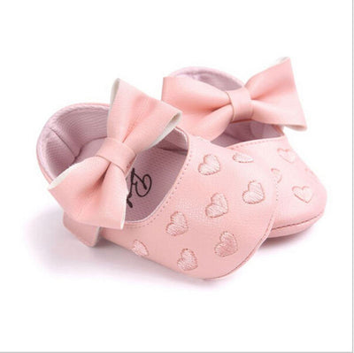 Spring Autumn PU Newborn Baby Boy Girl Baby First Walkers Soft Moccs Ballet Shoes Soft Soled
