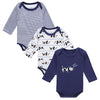 Baby Body Cotton Cute Animal Trimmed Baby Boy Clothes Jumpsuit  Winter Romper