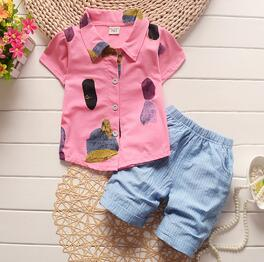 baby boys clothing sets new summer fashion children kids clothing set t-shirt pants 2 cps for boys clothes tracksuit