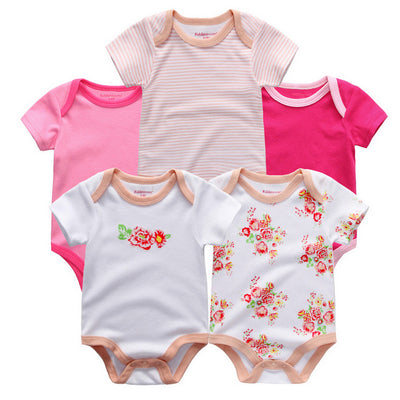 New Summer cotton Baby Rompers Toddler Jumpsuit spring Baby Girls boys Newborn overall clothes baby clothing