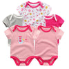 5 Pcs Lot Baby Boys Cute Character Short Clothing born Set Summer Style 100% Cotton
