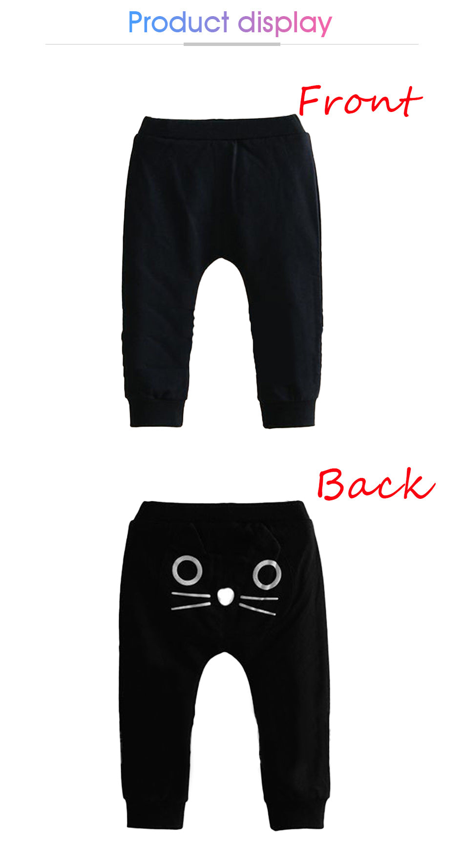 a0682bef3 Cute Cartoon Baby Pants Baby Boy Girls Harem Pant Ruffle Pant Causal ...