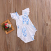 Fashion Adorable Newborn Baby Girls Sleeveless Elephant Romper Kids Summer Clothes Sunsuit