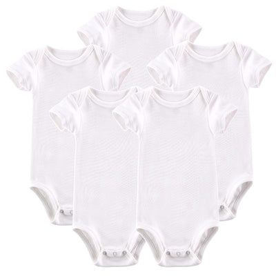 Baby Clothing Infant Baby Boy Romper Short-sleeve Jumpsuit 0-12 M Baby Pajamas