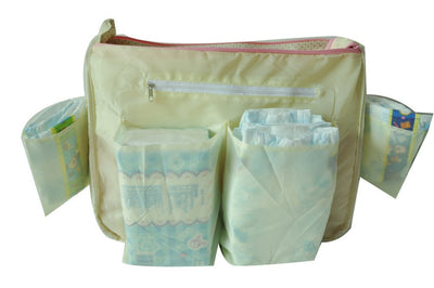 5pcs/set Aardman diaper baby bags Mummy bag,baby travel bag