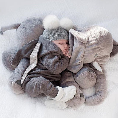 Newborn Baby Girl Boy Rabbit Ear Zipper Hooded Romper Jumpsuit Outfits Clothes