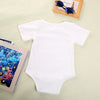 Summer born Boys Girls Cotton Quote Print Romper Playsuit Outfits Costume