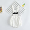 Baby Boys Girls Clothes Shorts Toddler Kids Rompers Cute Beard pattern Jumpsuit For Summer Bib Pants Clothes