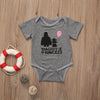 Summer Cute Newborn Infant Baby Girls Romper Daddy's princess Jumpsuit Clothes Sunsuit Outfits