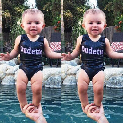 Summer Toddler Newborn Baby Kids Girls Romper Jumpsuit Outfits Swimwear Summer Beach Wear