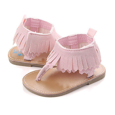 Tassel First Walkers Baby Girls Tassel Princess Toddler Baby Soft Sole Shoes Non-Slip Sneakers