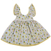 Floral Toddler Baby Kids Girls Clothing Princess Dress Butterfly sleeves lace Pageant Party Dresses 0-3T