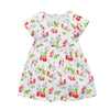 Baby Girls Dress Ladybug Print Kids Birthday Dress Princess Costume for Children Clothing
