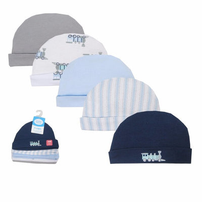 5 pcs Baby Caps for Boys Girls Newborn Boy Hats 0-6 M Baby Accessories