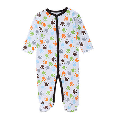 New Baby Romper Long Sleeve Spring Autumn Cotton Baby Cartoon Toddler Jumpsuit Baby Body Newborn Baby Clothes
