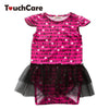 3 Pcs /Set Self-designed Long Sleeve Baby Girl Romper Overalls for Children born Baby Clothes Infant Lace Dress