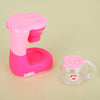 Pink Girls Kitchen Toys Coffee Machine Children Kid's Kitchen Toys Educational Pretend Play Toys for Girls