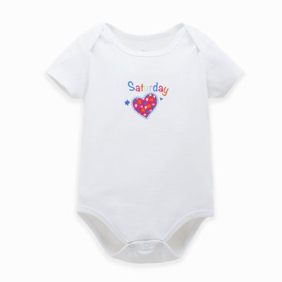 Baby Bodysuits Boy Girl Clothes Similar Clothing Newborn Grows Unisex Brief Pure color