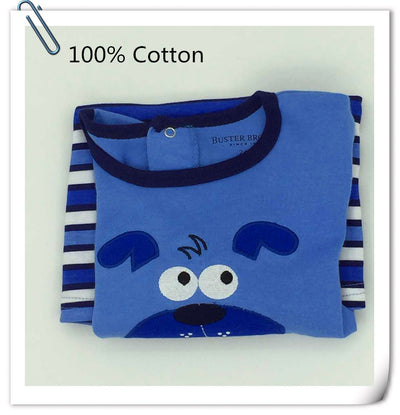 Newborn Summer 100%Cotton Character Short Baby Boy Clothing Baby Boy
