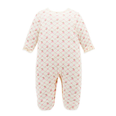 Cute Fashion Newborn Rompers Baby Girls Jumpsuits Newborn Baby Grows Cheap Infant Rompers