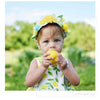 Summer Yellow Lemon Vest Fruit Printing Baby Girl Shorts Soft Cotton Sleeveless Casual Toddler Dresses T-shirts Clothes