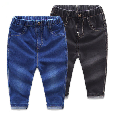 New Arrival Baby Girls Denim Jeans boys Girls Fashion Skinny Jeans Child Cotton Jeans Kids Casual Long Pants