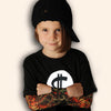 Boy Clothes Cotton T-Shirt With Long Sleeve Children T-Shirts New Tattoo Sleeve Boys Tops Spring Children Clothes
