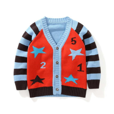 Boys Cardigan Children sweater coat Kids Sweater Baby Jacket Knitted Girl Outwear coat Clothes