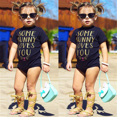 Baby Girls Newborn Summer Baby Girl Boy Cartoon Romper Jumpsuit Outfits Clothes