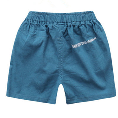 Boys beach shorts thin cotton trousers for boys Children Beach Shorts Casual Sport trousers