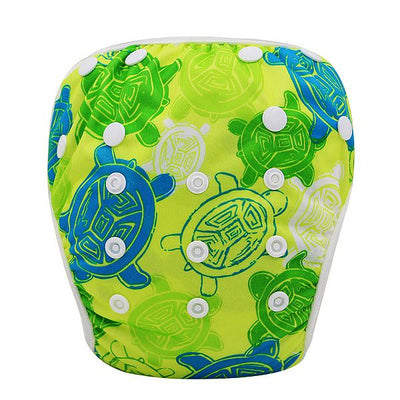 Baby Swim Diaper Pant Washable Reusable One Size Breathable Cover Reusable Pants Infant Toddler Nappy 0-3 Years 10 Colors