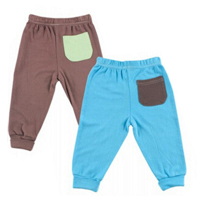 Newly 2 Pieces Soft Bamboo Cotton Baby Pants Next Casual Pants Infant Girl Boy Trousers Baby Clothing