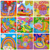 3D Mosaics Creative Kids Sticker Game Arts Craft for Kids EVA Educational Toys For Children Stickers Kids Toys